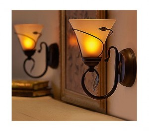 Qvc Flameless Wall Sconces The Average Consumer  sc 1 st  Candle & Flameless Candle Wall Sconce - Best Candle 2018