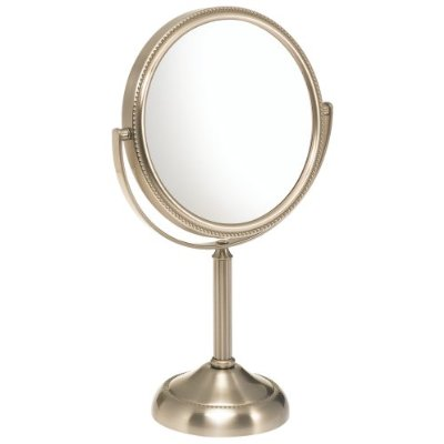 top mirror it has a 10x magnification mirror and was a great choice
