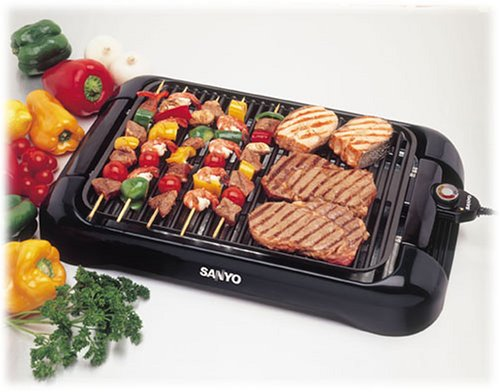 Sanyo Indoor Electric Grill The Average Consumer