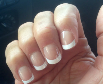 Glam Alert Diy Kiss French Manicure Press On Nails