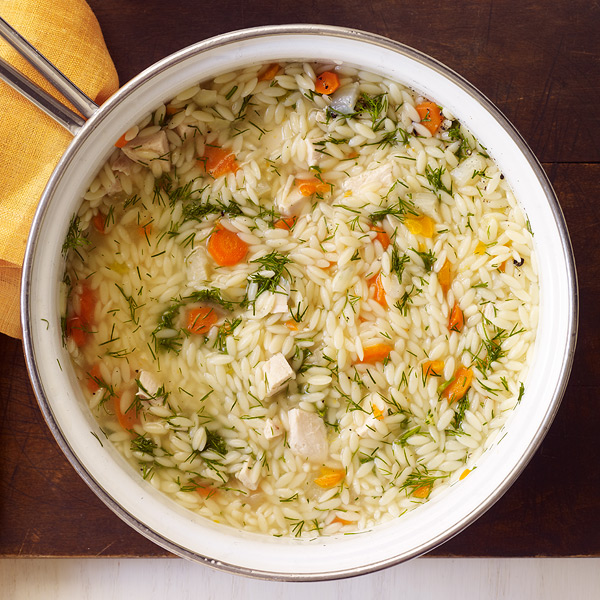 Consumer Cafe: Chicken, Vegetable and Orzo Soup | The Average Consumer
